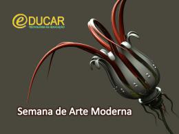 Semana de Arte Moderna - Escola Portal do Saber