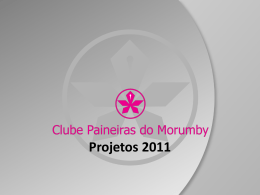 Slide 1 - Clube Paineiras do Morumby