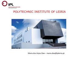 missão da UIS e sua integração no IPL > projetos que temos