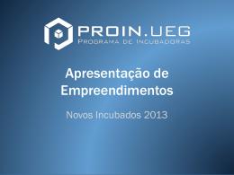 Release Projetos e Empreendimentos
