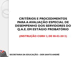 Instrução CGRH 2, de 08-02-2013