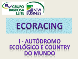 ECORACING - Professor Jose Barbosa Leite Neto