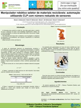 Apresentação do PowerPoint - Instituto Federal de São Paulo