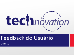 Lição 10 - Technovation