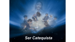 Ser catequista