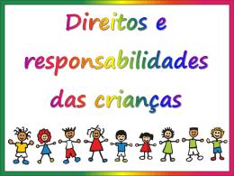 Os direitos e as responsabilidades das crianças