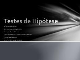 Aula 10 - Testes de Hipótese
