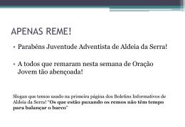 28/07/2012 - IASD Alphaville e Aldeia da Serra