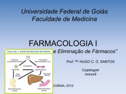 Aula 7: Farmac. Biotransformação
