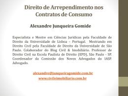 Clicando aqui - Blog do Direito Civil & Imobiliário
