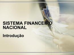 1SistemaFinanceiroNacionalIntroducao