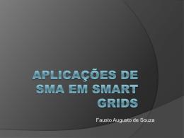OUTRAS Aplicações de SMA em Smart Grids