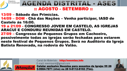 Comunicados distrital – 13/09/2014 – Baixar
