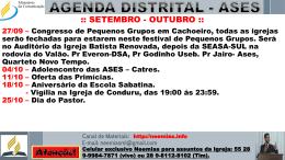 Comunicados distrital – 27/09/2014 – Baixar