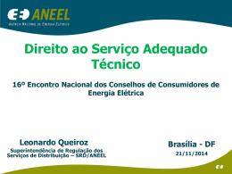 Direto ao Serviço Adequado Técnico - Leonardo Queiroz