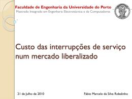 Qualidade de Serviço - Universidade do Porto