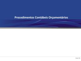 2. Procedimentos Contábeis Orçamentários - CRC-ES