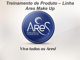Slide 1 - Ares Perfumes & Cosméticos