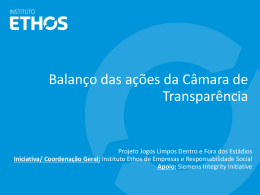 Slide 1 - Portal da Transparência