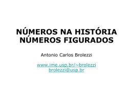Números figurados. A seita pitagórica e o teorema de - IME-USP