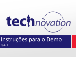 Lição 9 - Technovation