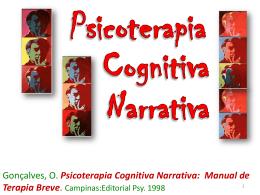 Psicoterapia Cognitiva Narrativa