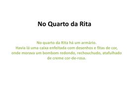 No Quarto da Rita