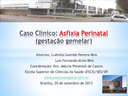 Caso Clínico: Asfixia Perinatal (Gemelar)
