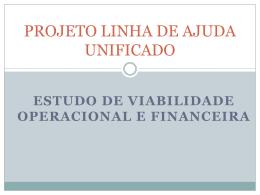 PROJETO LINHA DE AJUDA UNIFICADO