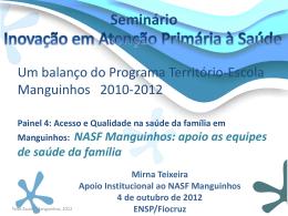 NASF-Manguinhos 2010