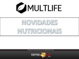 Novidades Nutricionais Shoppingclub