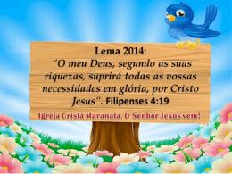 Lema 2014_ICM