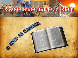 2º Samuel - Pr. Wilian Gomes