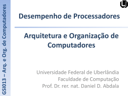 Slide 1 - Facom - Universidade Federal de Uberlândia
