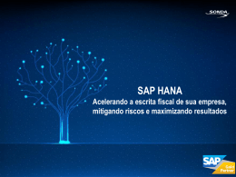 SAP HANA - Sonda IT
