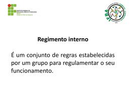 Prof. Me. Jaime dos Santos Filho - IFBA Campus Vitória da Conquista