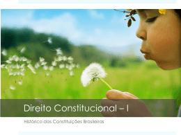Histórico das Constituições Brasileiras