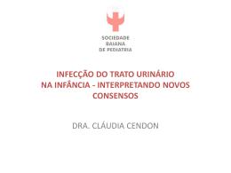 INFECÇÃO DO TRATO URINÁRIO (ITU) IMPORTÂNCIA