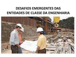 desafios emergentes das entidades de classe da - Crea-RS