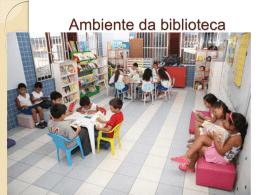 Ambiente da biblioteca