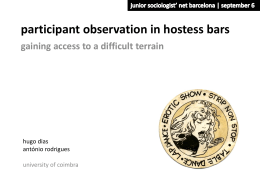 participant observation in hostess bars