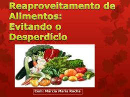 Reaproveitamento de Alimentos - Ala Amaralina Sud