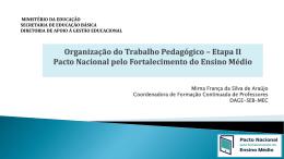 Mirna França da Silva de Araújo / MEC
