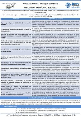Slide 1 - Instituto Mamirauá
