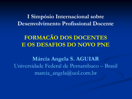 Painel_1_Marcia_Aguiar - I Simpósio Internacional Sobre