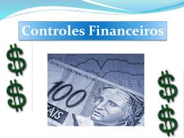 CONTROLE DE CONTAS A RECEBER
