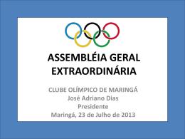 valores apresentados na assembleia geral extraordinaria 23.07