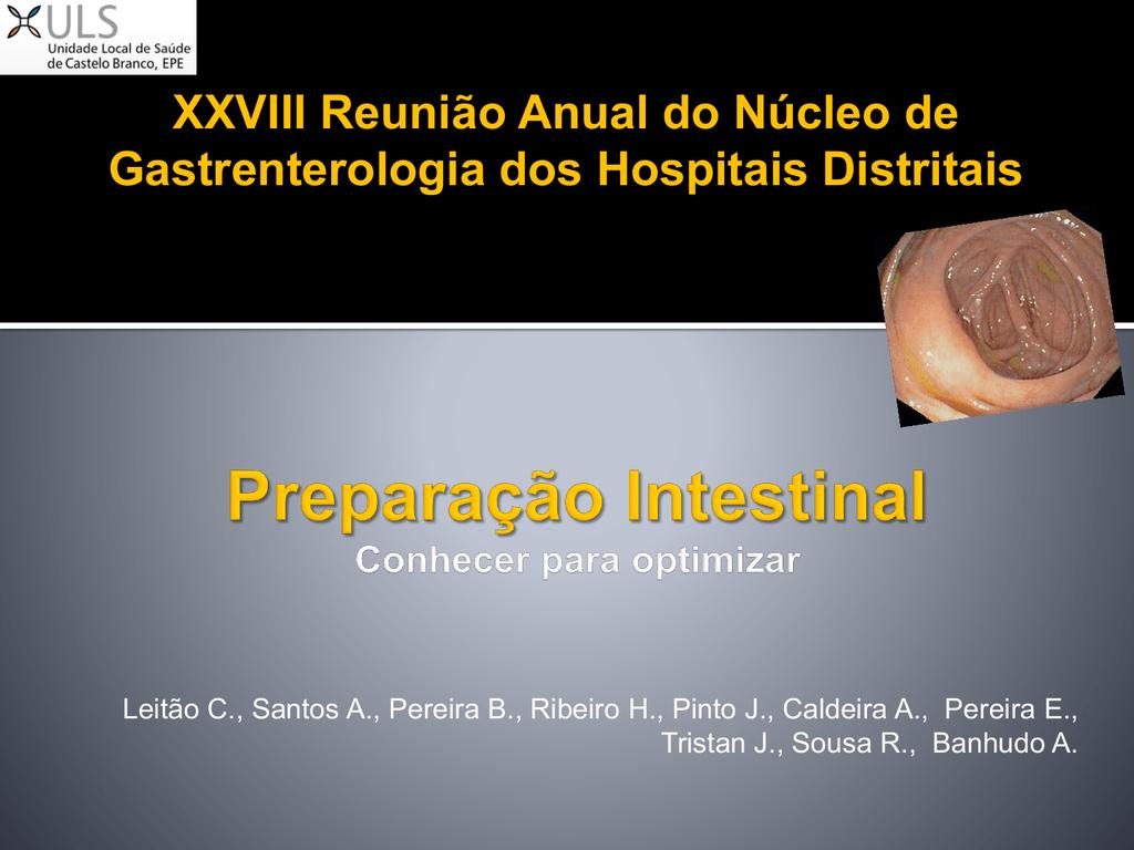 II Jornadas Científicas da Unidade Local de Saúde de Castelo