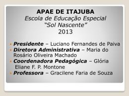 Gracilene Faria de Souza - Uniapae-MG