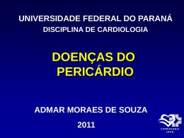 Doenças do Pericárdio - Hospital de Clínicas/UFPR
